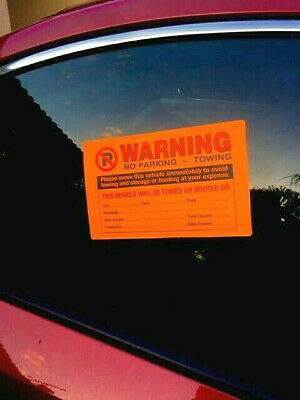 BUY REAL ONLY!! 12pk ⭐ 10+2 FREE! ⭐ NO ILLEGAL PARKING VIOLATION TOWING STICKERS
