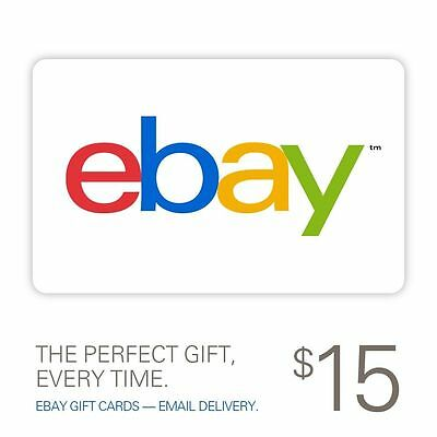 15 eBay Gift Card - Fast Email Delivery