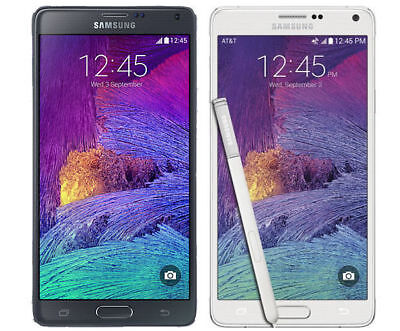 Samsung Galaxy Note 4 32GB SM-N910T Unlocked GSM 4G LTE Android Smartphone