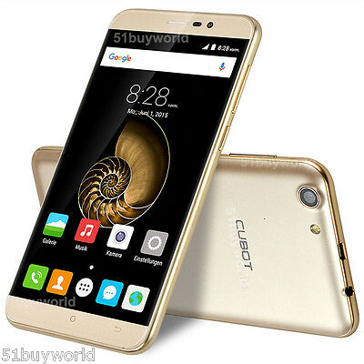 55 Zoll CUBOT NOTE S 16GB Android 6-0 Quad Core Dual Sim 3G Smartphone Handy