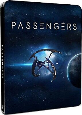 Passengers 2016Blu-ray Region-FreeSteelbookJennifer LawrenceNEW SEALED