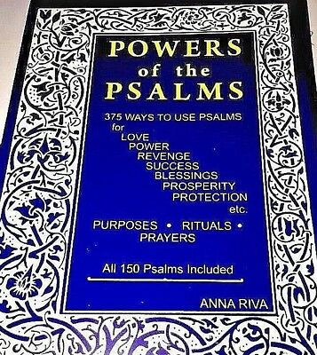 Anna Riva - POWERS OF THE PSALMS - ANNA RIVAs Popular Book - POWER PSALM