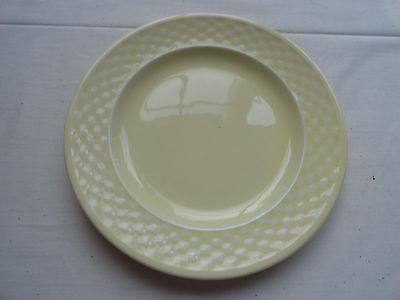 W S GEORGE BASKETWEAVE BREAD AND BUTTER PLATES - BEAUTIFUL