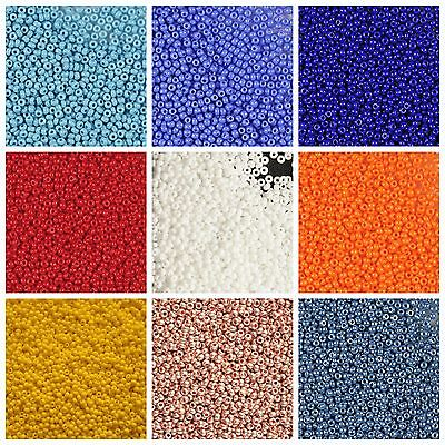 CHOOSE COLOR 20g 3300pcs 120 Seed Beads Rocailles Preciosa Czech Glass