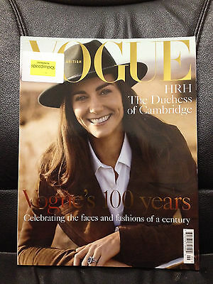 KATE MIDDLETON - DUCHESS OF CAMBRIDGE - UK VOGUE MAGAZINE - JUNE 2016 - NEW