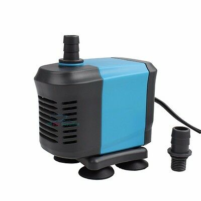 400-1455 GPH Submersible Water Pond Pump Aquarium Fish Tank Fountain Hydroponic