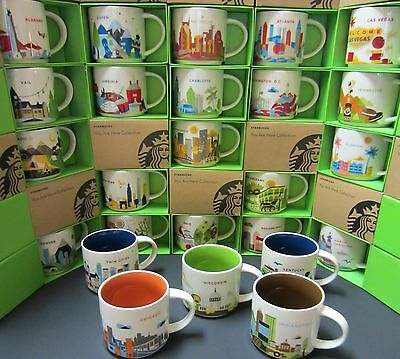 Starbucks YOU ARE HERE YAH City Mug - YOU PICK Multiple Cities - NIB with Tag