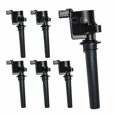 Set of 6 Ignition Coils for Ford Mazda Various Others 3-0L V6 FD502 DG500