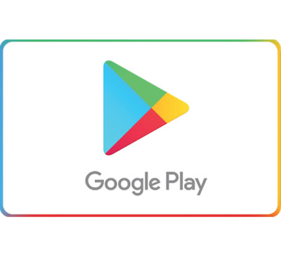 Google Play Gift Code - 25 50 or 100 - Fast email delivery