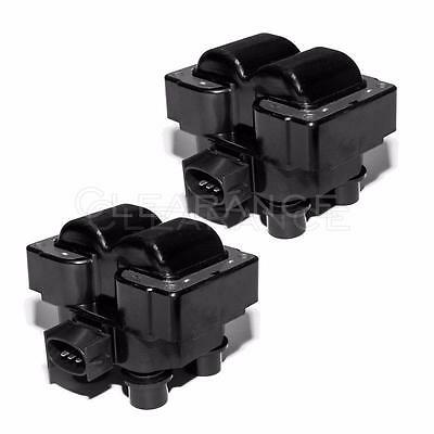 Ignition Coil Packs Pair Set NEW for Ford Lincoln Mercury 4-6L 5-0L V8 FD487T