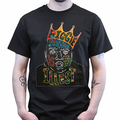 Biggie Smalls Is The Illest King Notorious B-I-G T-shirt Top T shirt