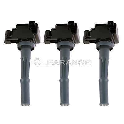 Pack of 3 Ignition Coils for 95-04 Toyota 3-4L V6 UF156 C1041 90919-02212