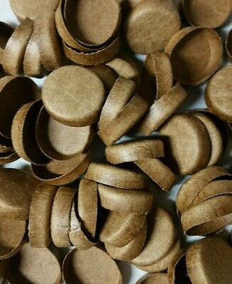 50 NEW 34 Paper Plugs End Caps For Fireworks PYRO Tubes Crafts