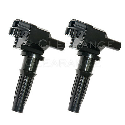 2X Ignition Coil for 2001 2002 2003 2004 2005 2006 Hyundai Santa Fe 2-4L l4