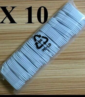 SET OF 10X3FT   USB Data Sync Charger Cable For Apple iPhone 5678X XS Max XS