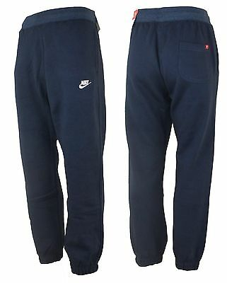 Nike Foundation Slim Fit Trainingshose / Jogginghose Sport Herren Hose Pant blau