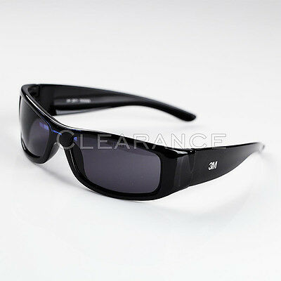 3M MOON DAWG DARK SAFETY SUN GLASSES 11215 EYEWEAR STYLISH PROTECTION