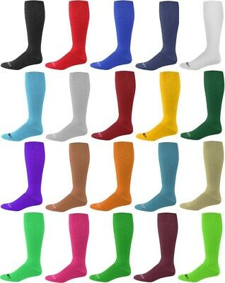 Pro Feet Solid Color Acrylic Multi-Sport Team Sock Soccer Baseball Softball