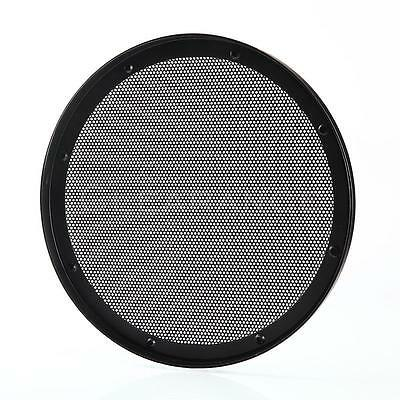 New 10 INCH UNIVERSAL STEEL  METAL MESH SPEAKER GRILL with RING DS10