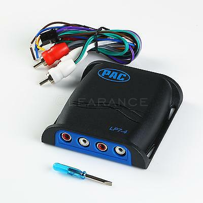 PAC LP7-4 L-O-C- Pro Line Output Converter Adjustable Car Audio Four 4 Channel