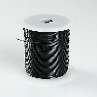 500FT BLACK HIGH PERFORMANCE PRIMARY WIRE 22 GAUGE AWG WITH SPOOL MADE IN USA