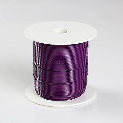 500FT PURPLEHIGH PERFORMANCE PRIMARY WIRE 22 GAUGE WITH SPOOL MADE IN USA