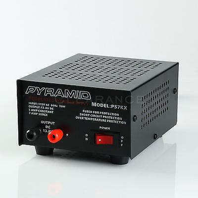 Power Supply Pyramid 5 Amp Constant Regulated ACDC