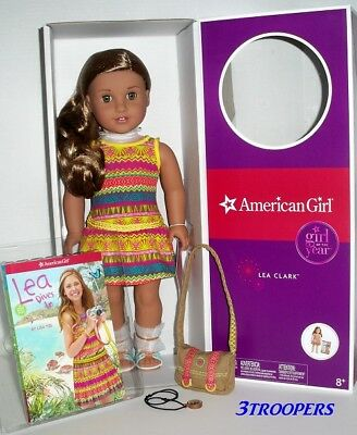 AMERICAN GIRL LEA CLARK  - DOLL OF THE YEAR 2016  - 18 - NEW IN BOX