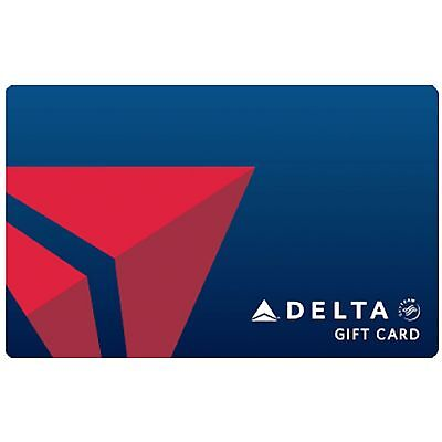 100 Delta Air Lines Gift Card  - Fast Email delivery