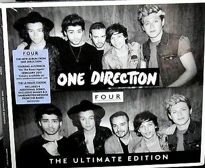 Four Deluxe Ultimate Edition by One Direction NEW CD 4 EXTRA SONGSRARE