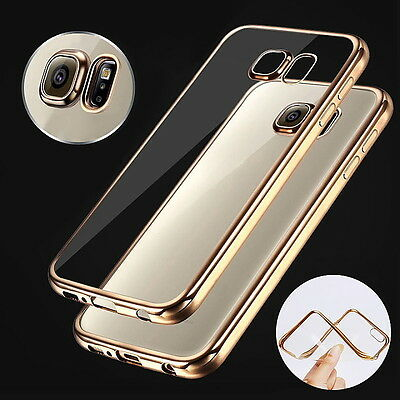 NEW Clear Crystal TPU Phone Case Cover for Samsung Galaxy S7 Edge NOTE 7