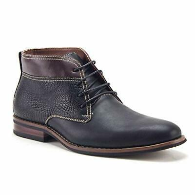 New Ferro Aldo Mens Ankle High Lace Up Chukka Casual Wear Dress Boots