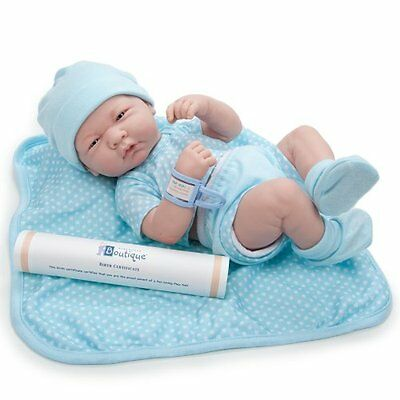 Handmade Lifelike Baby Boy Doll Silicone Vinyl Reborn Newborn Dolls -Clothes NEW