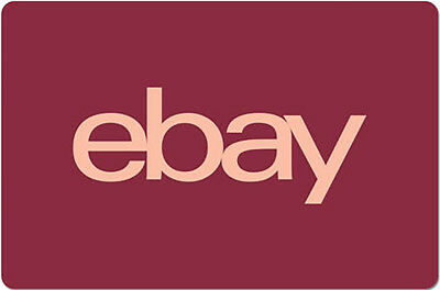 15 eBay Gift Card - One card  so many options-  Email delivery