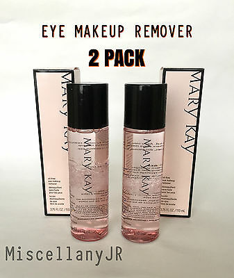 MARY KAY EYE MAKEUP REMOVER - OIL FREE - PACK OF 2 - FREE SHIPPING