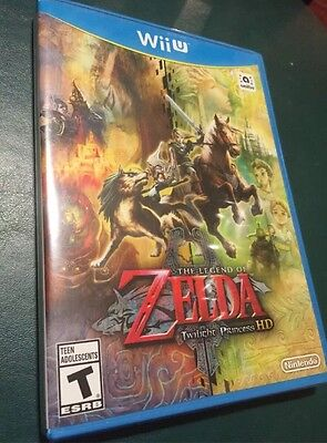 The Legend of Zelda Twilight Princess HD NINTENDO WII U NEW SEALED Game only