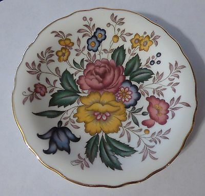 Floral Royal Grafton 4 34 Plate - made in England