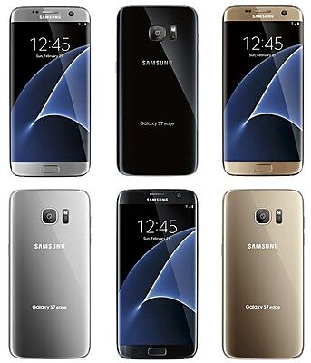 Samsung Galaxy S7 Edge  Unlocked  4G LTE  32GB  AT-T  T-MOBILE  UNBRANDED