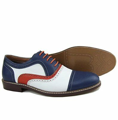 New Ferro Aldo MFA-19355 Mens Perforated Lace Up Dress Classic Oxford Shoes