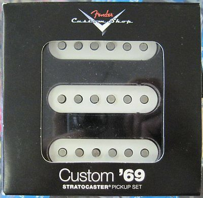 Brand New Fender Custom Shop 69 Strat Stratocaster Electric Guitar Pickup Set