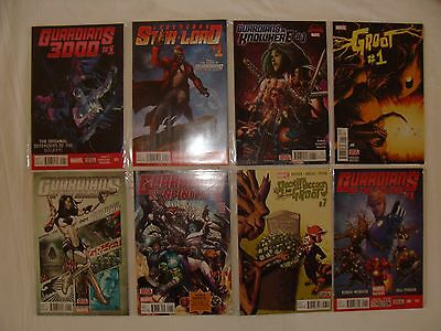LOT 46 GUARDIANS OF THE GALAXY 1 2 3 - THANOS STAR-LORD GROOT - NEW MOVIE - NM