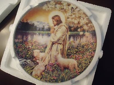W-S- George Collector Plate Love One Another 1st Issue Garden of the Lord Series