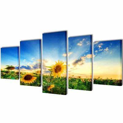Canvas Art Painting Modern Home Wall Decor Picture Print Framed Sunflower 79