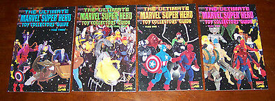 THE ULTIMATE MARVEL SUPER HEROES TOY COLLECTORS GUIDE YEARS 1 2 3 4 SET
