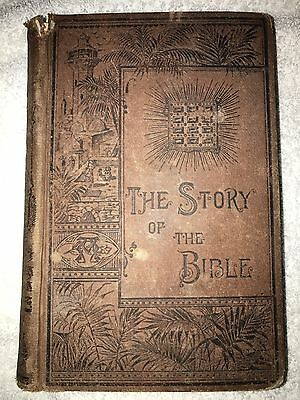 Antique The Story Of The Bible By Charles Foster Copyright 1884