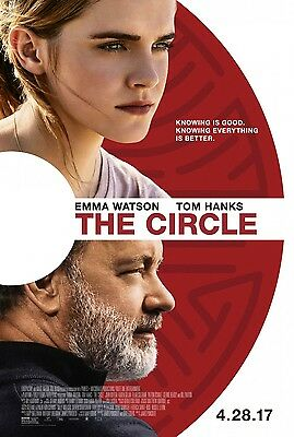 The Circle original double sided movie poster 27 x 40