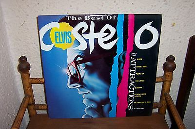 The Best Of Elvis Costello And The Attractions LP Album NM