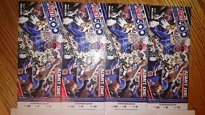 2017 Indy 500 4-tickets Penthouse