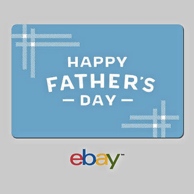 eBay Digital Gift Card Happy Fathers Day - Email Delivery