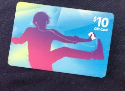 10 iTunes Gift Card FREE SHIPPING